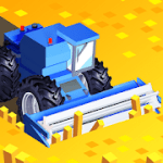 Harvest.io Farming Arcade in 3D v1.8.0 Mod (A big combine + No Ads) Apk