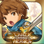 Crazy Defense Heroes Tower Defense Strategy Game v2.3.11 Mod (Unlimited Energy + Gold Coins + Diamonds) Apk