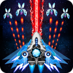 Space shooter Galaxy attack Galaxy shooter v1.475 Mod (Unlimited Diamonds + Cards + Medal) Apk