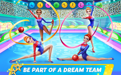 Rhythmic Gymnastics Dream Team Girls Dance 1.0.5 screenshots 14
