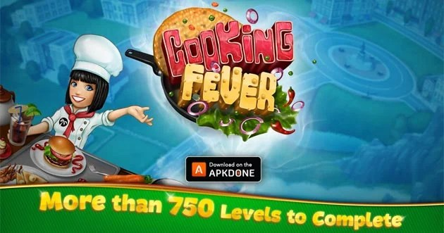Cooking fever poster