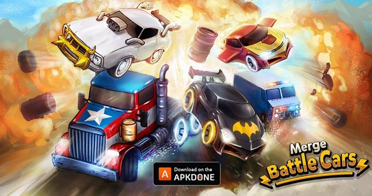 Merge Battle Car Poster