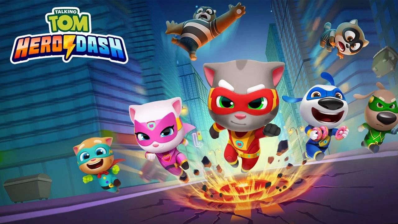 Poster of Talking Hero Dash