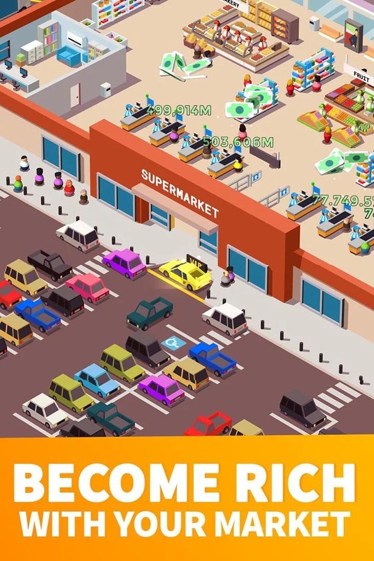 Inactive Supermarket Tycoon Screenshot 1