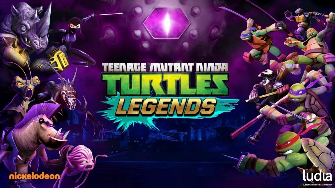 Ninja Turtles Legends Poster