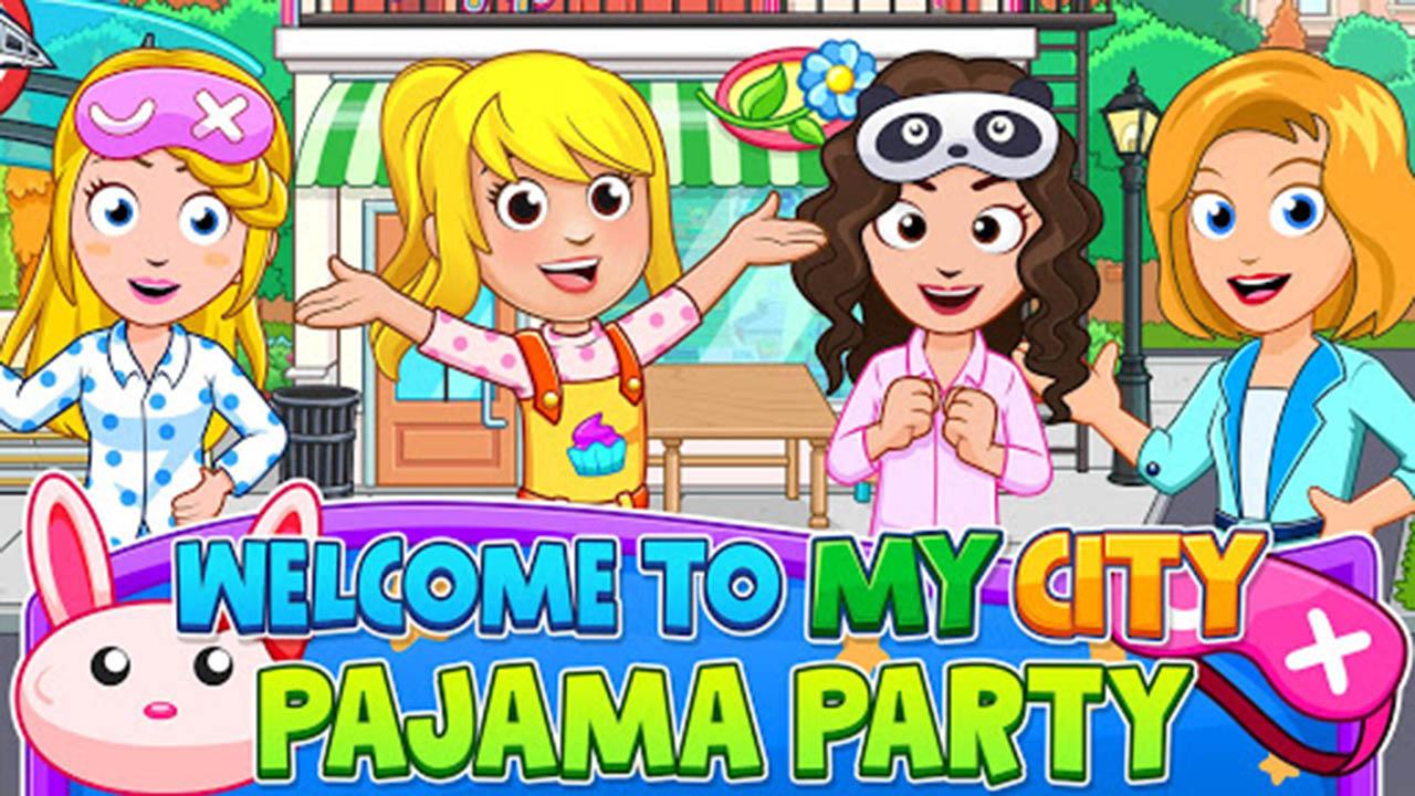 My City Pajamas Party Poster Screen 1