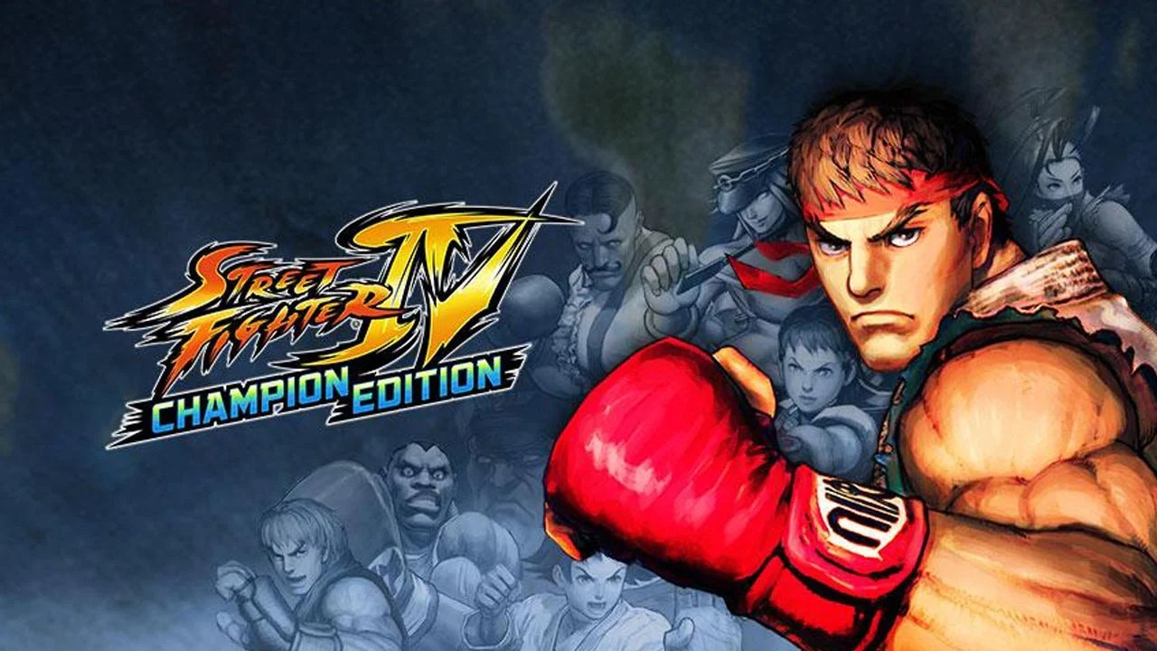 Street Fighter IV Champion Edition Poster