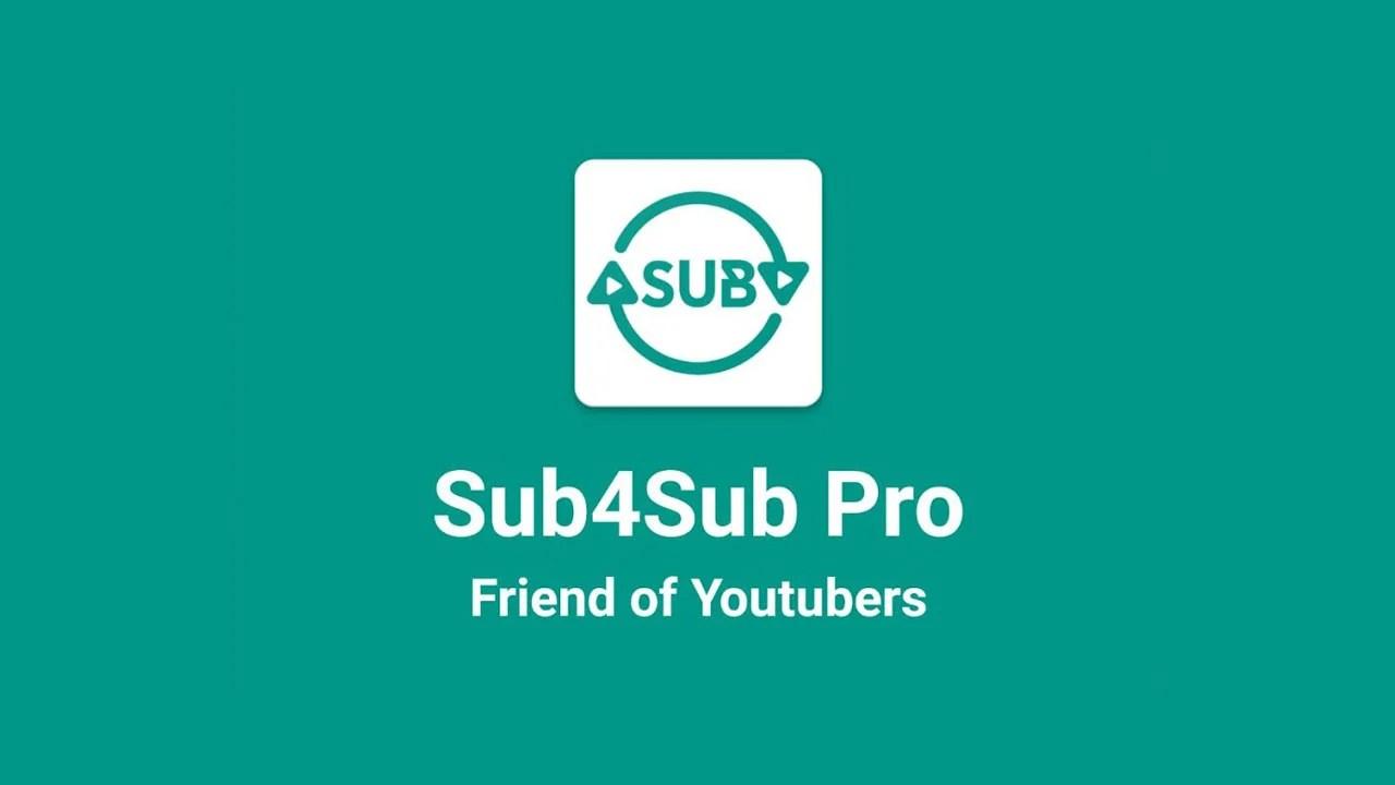 Sub 4 Sub Pro Poster