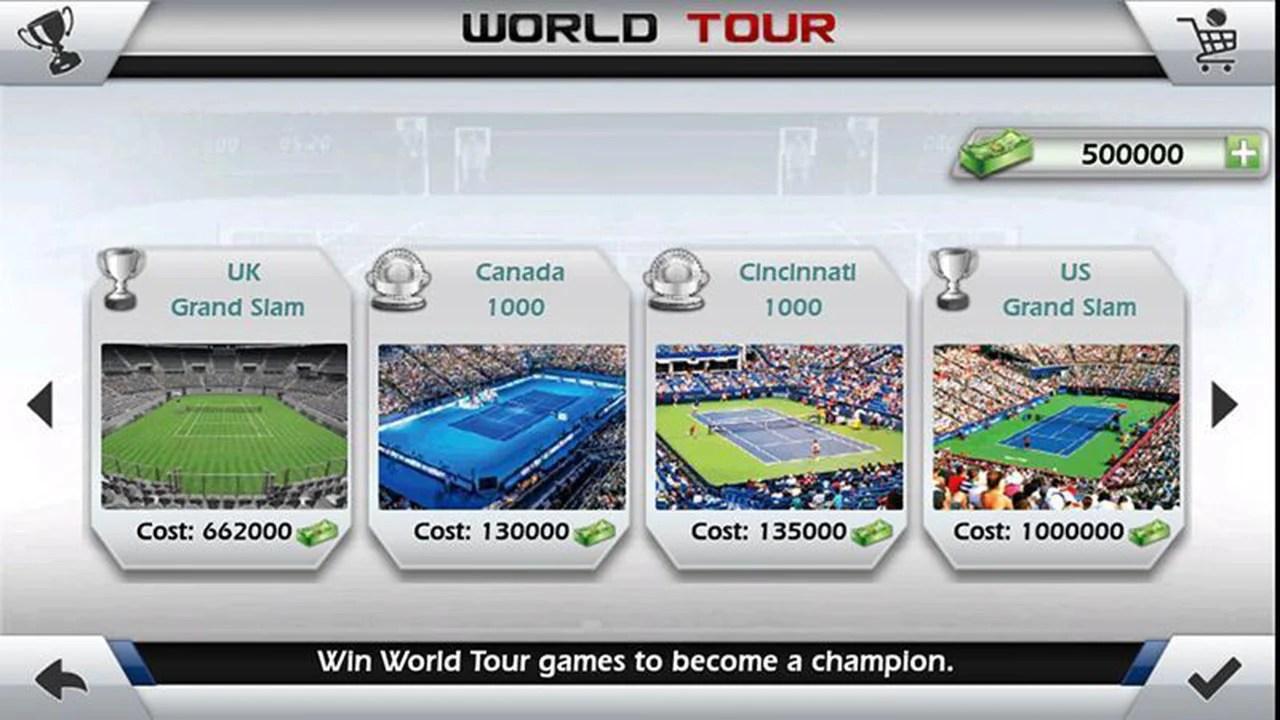3D tennis screen 4