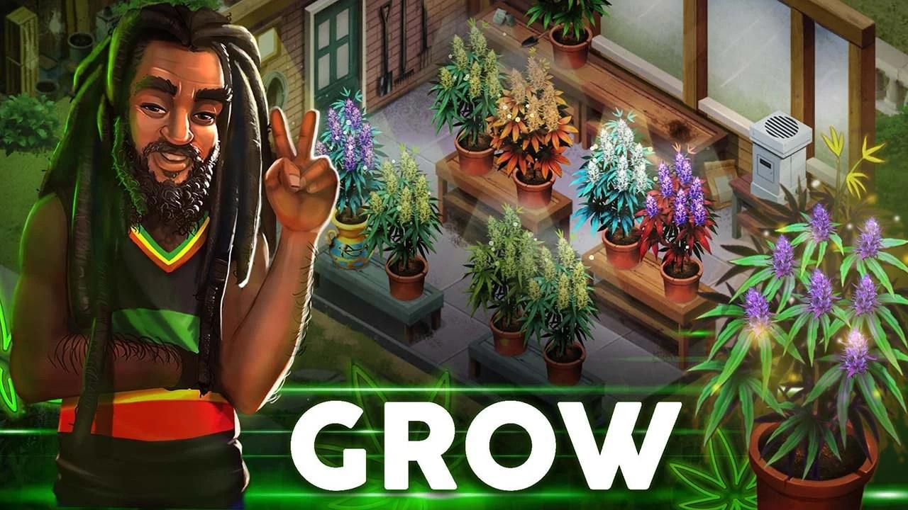 Hampire Plant Growing Game Screen 0