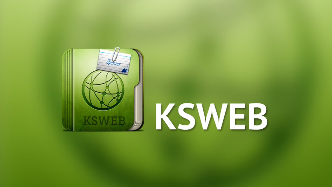 KSWEB Server PHP MySQL Poster