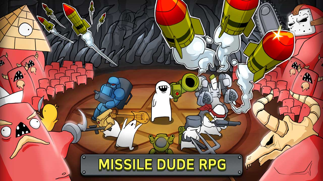 Missile Dude RPG Poster