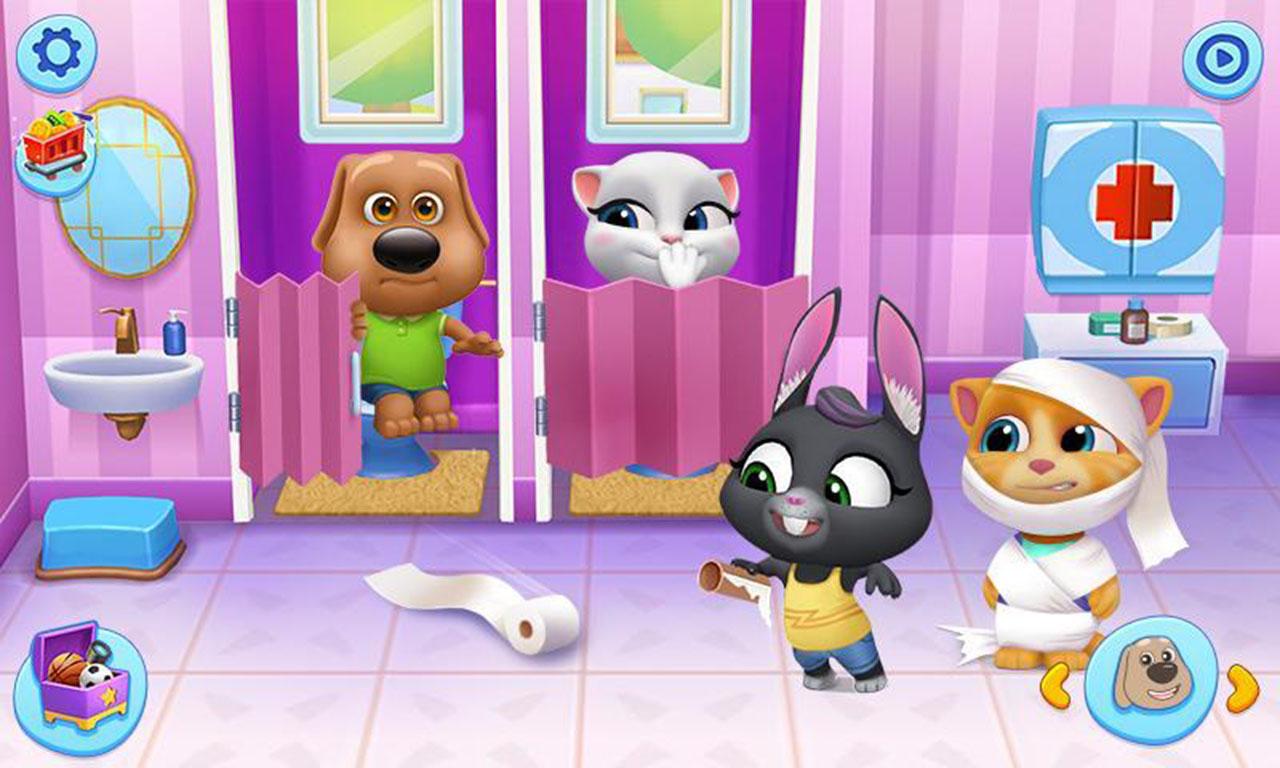 My Talking Tom Friends Screen 1