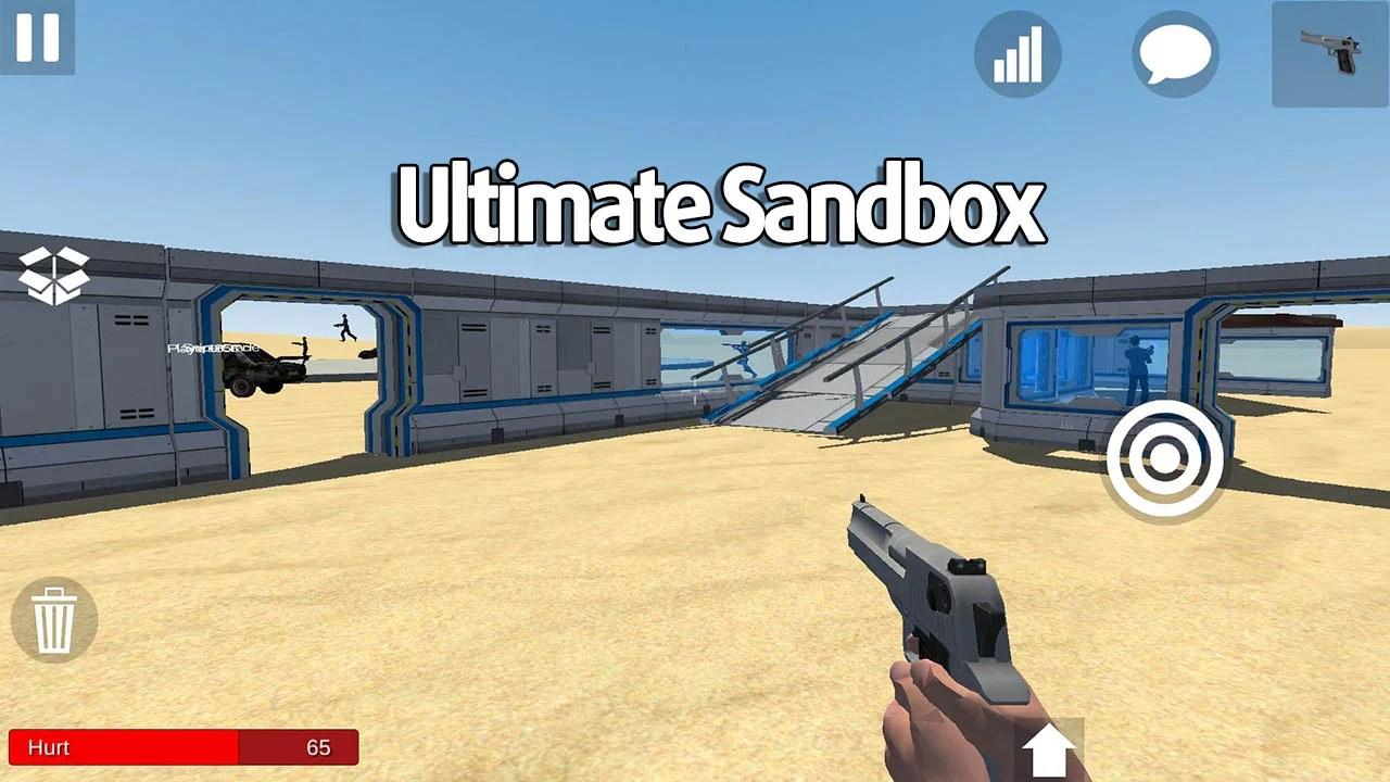 The final sandbox poster
