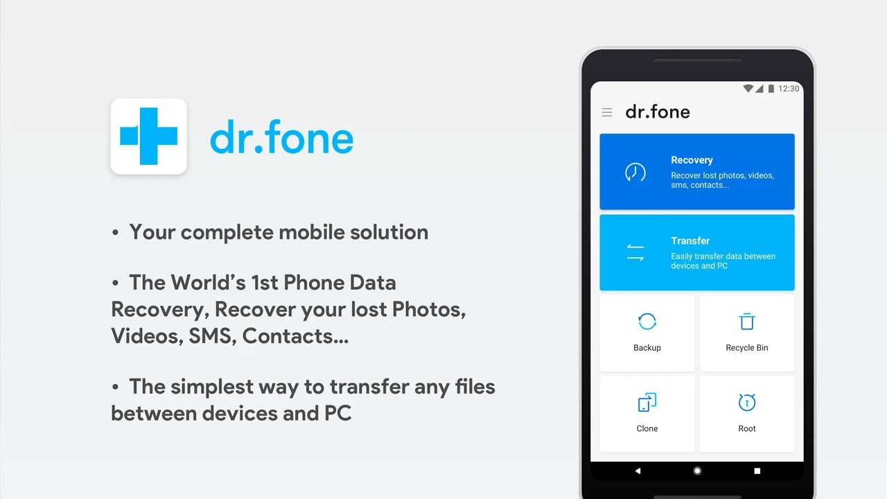 dr fone poster