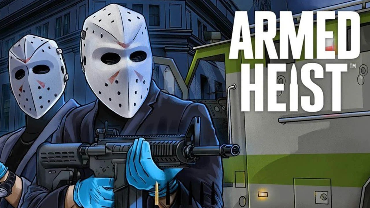Poster of armed robbery