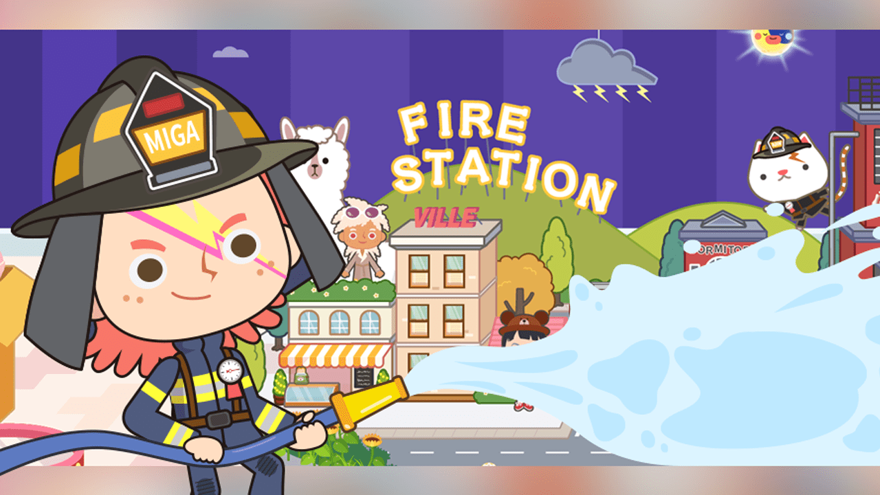 Mega Town: My Fire Station Banner