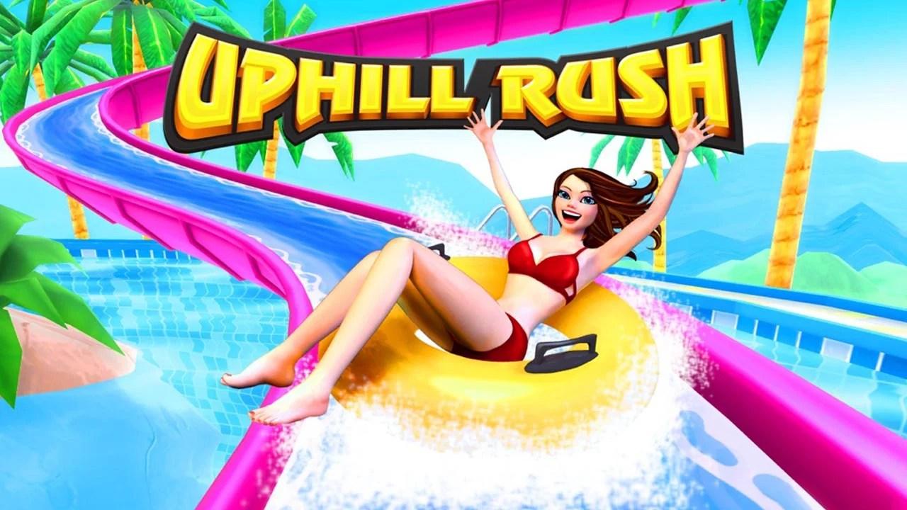 Appeal Rush Water Park Racing Poster