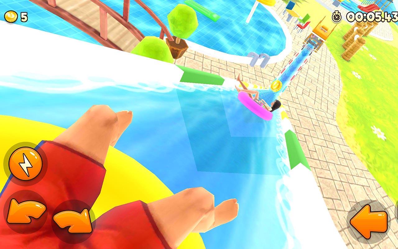 Appeal Rush Water Park Racing Screen 1