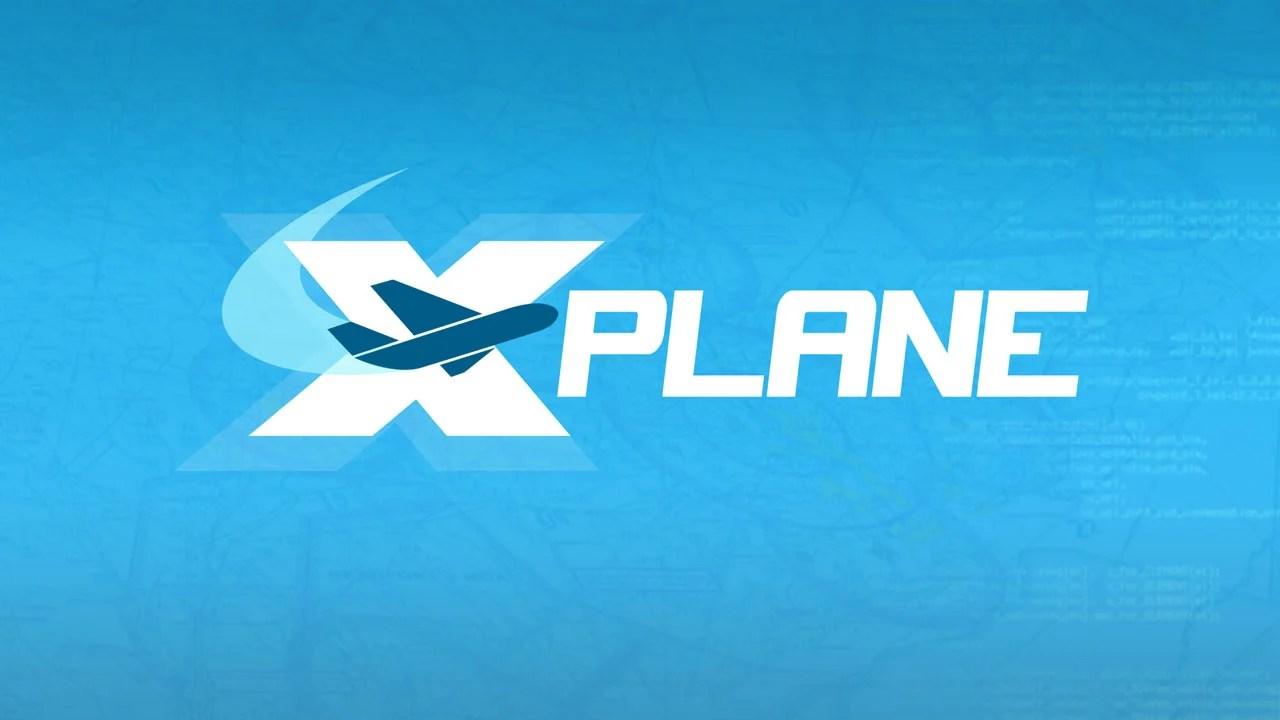 X Plane Flight Simulator Poster