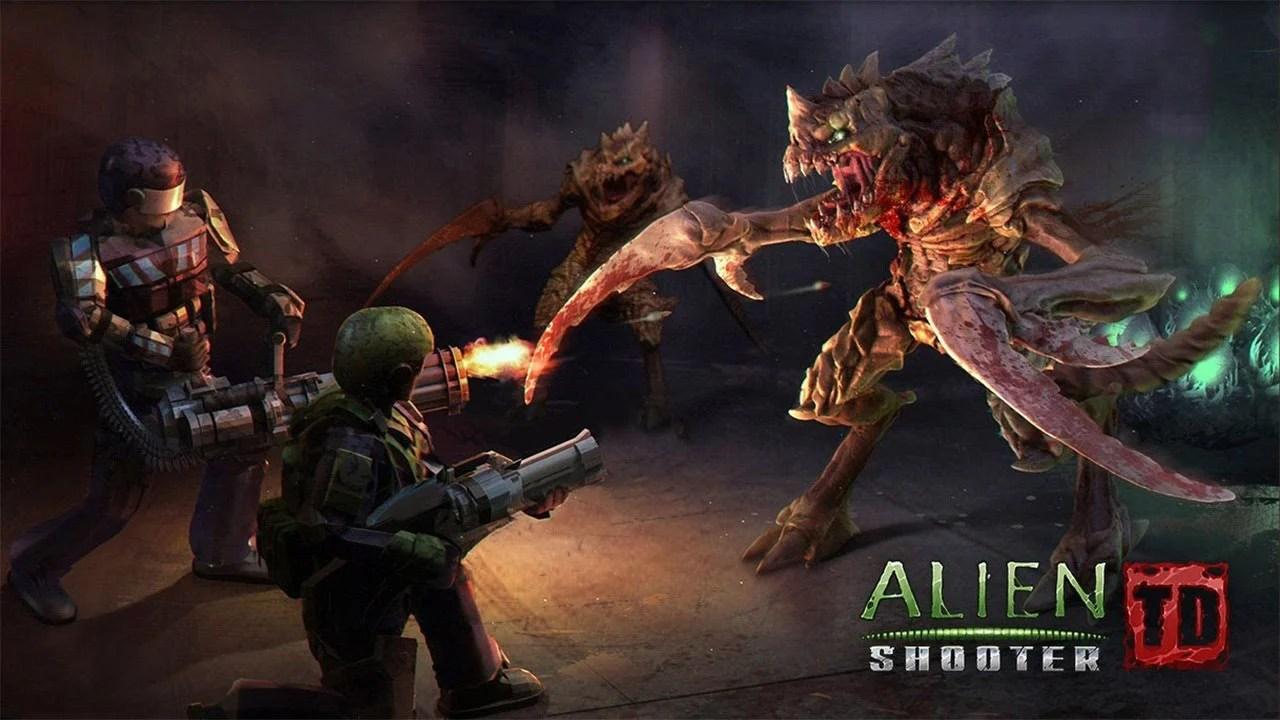 Alien Shooter TD Poster