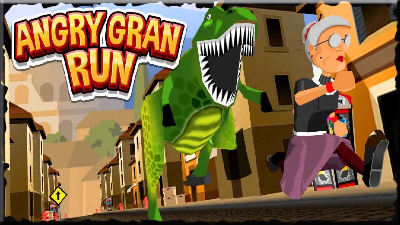 Angry Gran Run Poster
