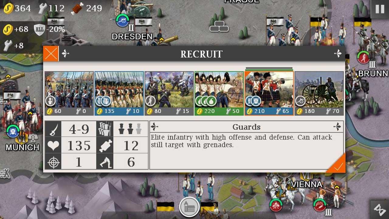European War 4 Napoleon Screen 1