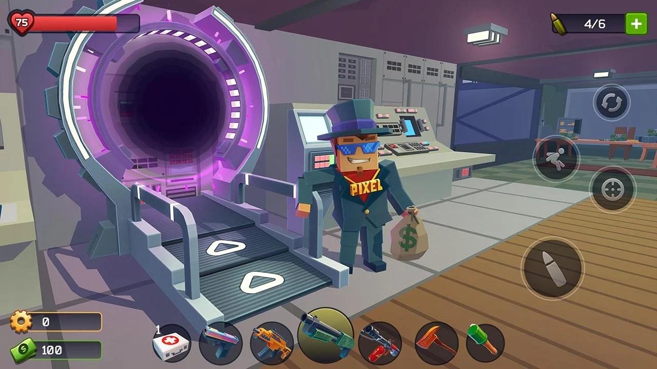Pixel Combat Zombies Strike Screen 0