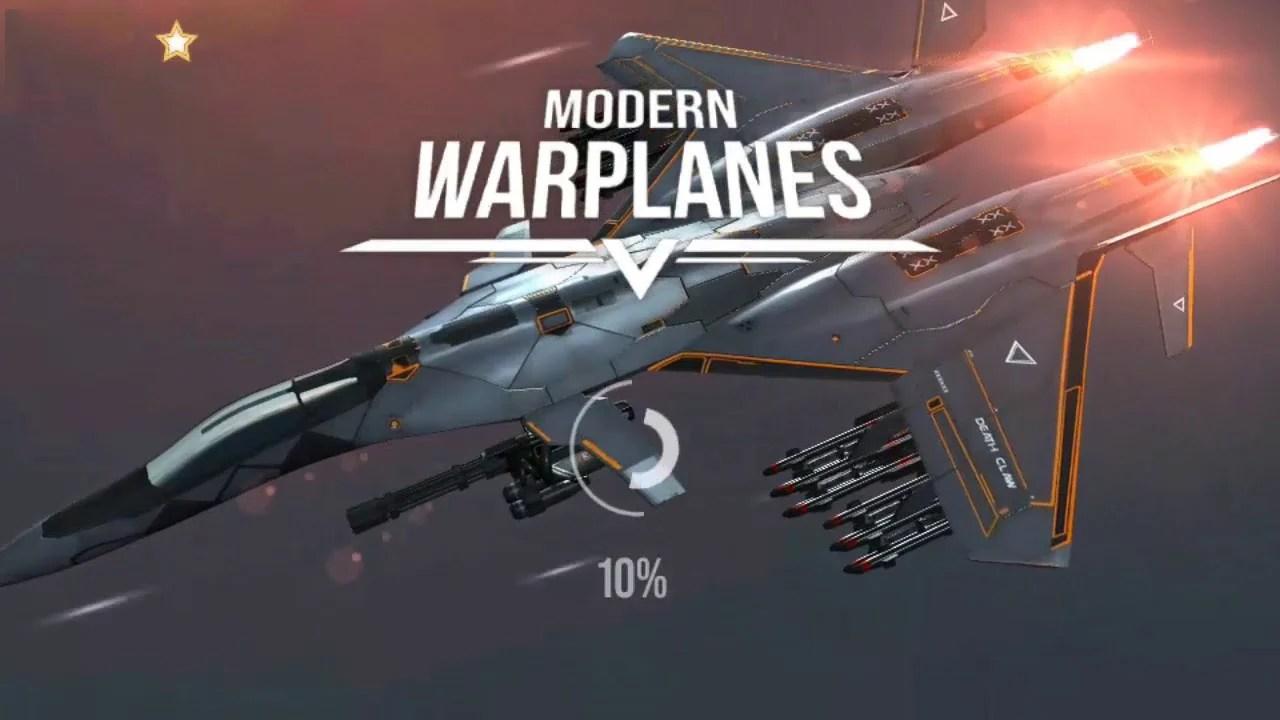 Poster of modern warplanes