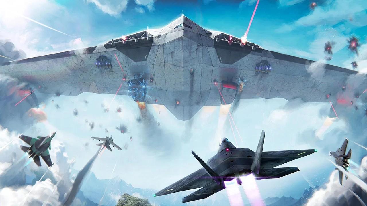 Screens of modern warplanes 1