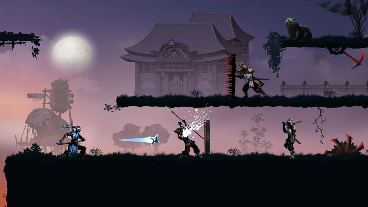 Ninja Warrior Screen 1