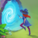 Charms of the Witch Magic Mystery Match 3 Games APK MOD Unlimited Money