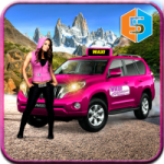 New York Taxi Duty Driver Pink Taxi Games 2018 5.0 APK MOD Unlimited Money