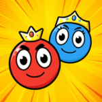 Red and Blue Ball The Forest Varies with device APK MOD Unlimited Money