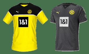 Borussia dortmund kits 2022