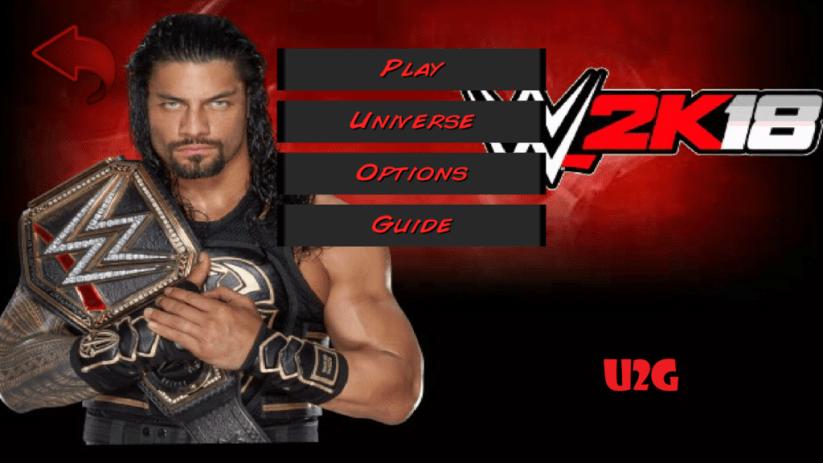 Wrestling Revolution 3D WWE 2K18