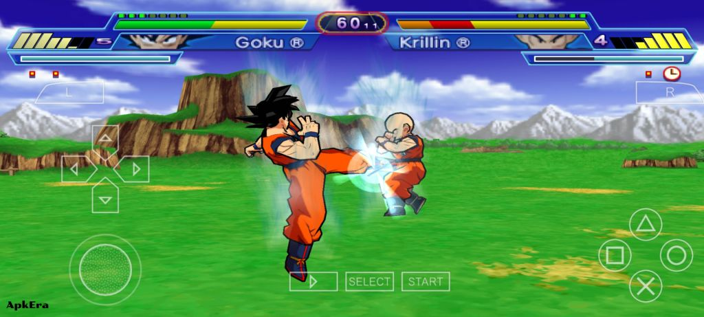 Dragon Ball Z: Shin Budokai: Another Road PPSSPP Download