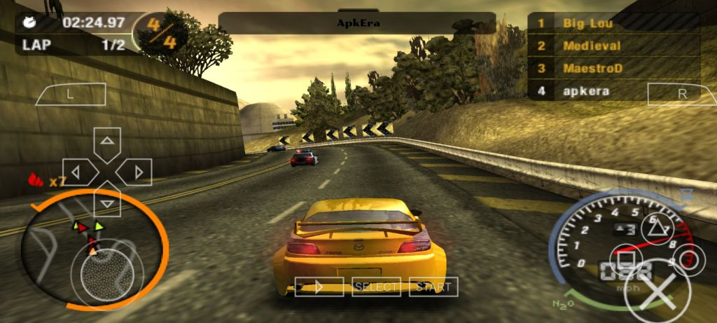 Need for Speed: Most Wanted PPSSPP Download