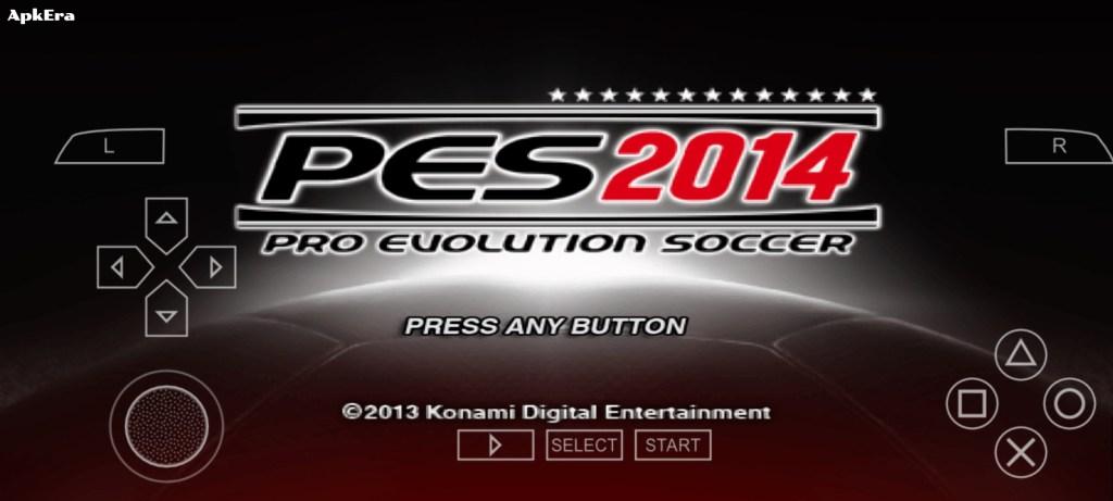 Pro Evolution Soccer 2014 PPSSPP Download