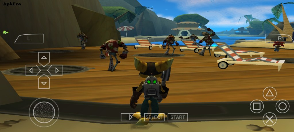 Ratchet & Clank Size Matters PPSSPP Download