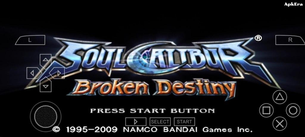 Soulcalibur: Broken Destiny PPSSPP Download