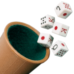 Beaker dice game -1 or 2 players