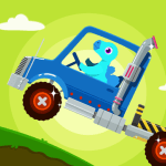 Dinosaur Truck – Car Games for kids