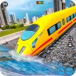 Underwater Bullet Train Simulator Train Games