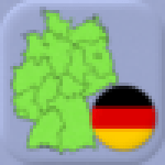 German States – Flags Capitals and Map of Germany
