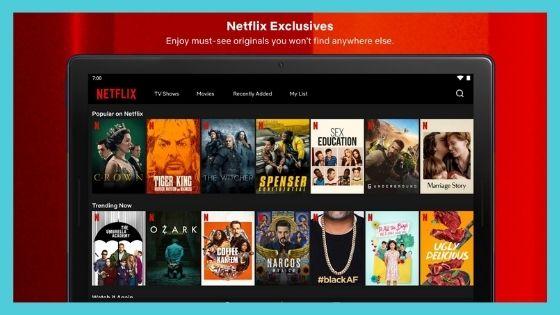 APK MOD của Netflix