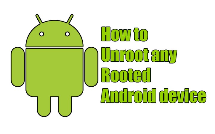 Unroot your rooted Android Mobile