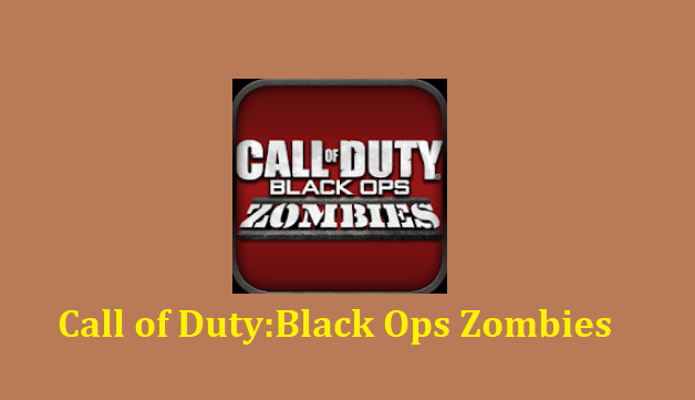 Call of Duty: Black Ops Zombies Mod Apk