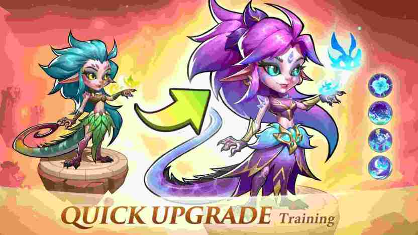 Upgrade your characters with unique abilities