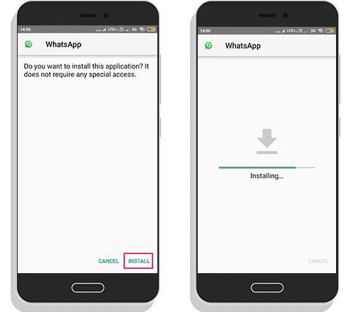 Gb Whatsapp install